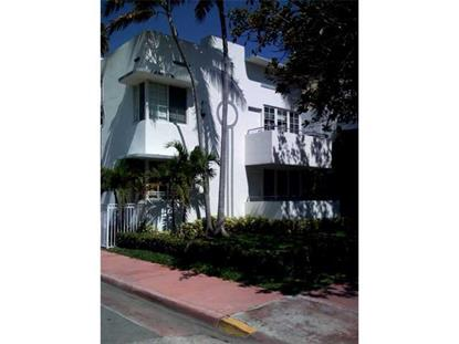 1000 MERIDIAN AV  Miami Beach, FL MLS# A2109286
