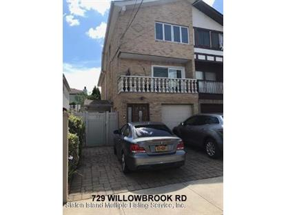729 Willowbrook Road Staten Island, NY MLS# 1137232