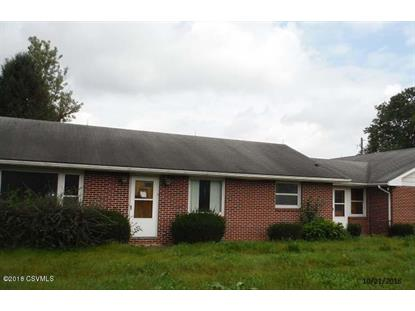 4604 OLD TURNPIKE Road Lewisburg, PA MLS# 20-78357