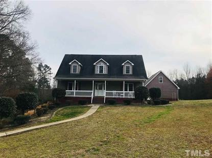 1796 Bearpond Road  Henderson, NC MLS# 2179956