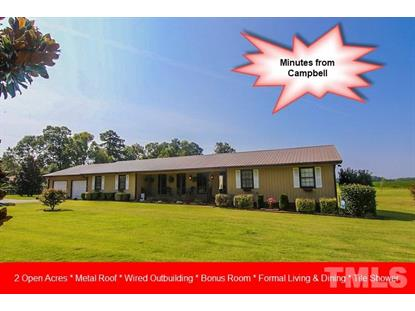 3011 Brick Mill Road  Lillington, NC MLS# 2207143