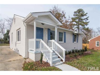 2736 Knowles Street  Raleigh, NC MLS# 2227503
