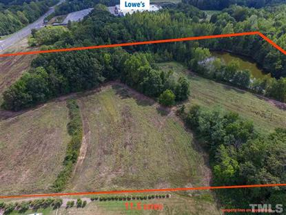 11.5 acres Durham Road  Roxboro, NC MLS# 2228556