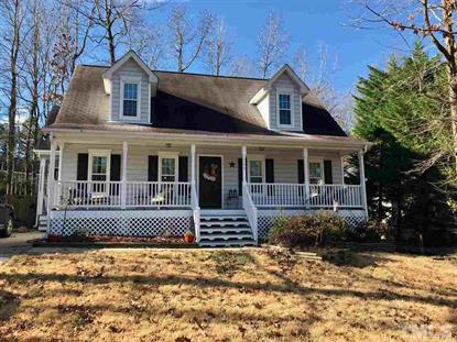 208 Milky Way Drive  Apex, NC MLS# 2230320