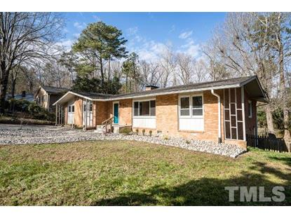 1801 Fountain Ridge Road  Chapel Hill, NC MLS# 2230928
