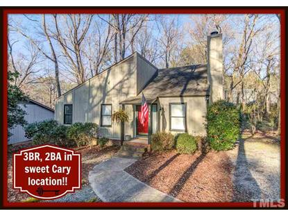 304 Two Creeks Road  Cary, NC MLS# 2232255