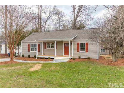2501 Springhill Avenue  Raleigh, NC MLS# 2232279