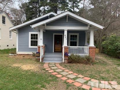 601 Bon Air Avenue  Durham, NC MLS# 2243659