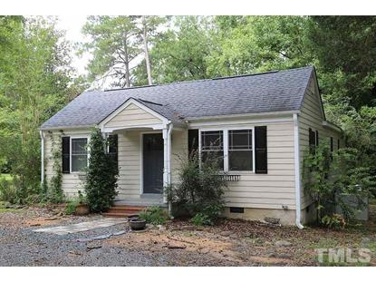 5016 Barbee Chapel Road  Chapel Hill, NC MLS# 2247085