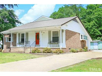 2809 Little John Road  Raleigh, NC MLS# 2255779