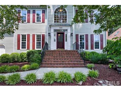 106 White Sands Drive  Cary, NC MLS# 2255800