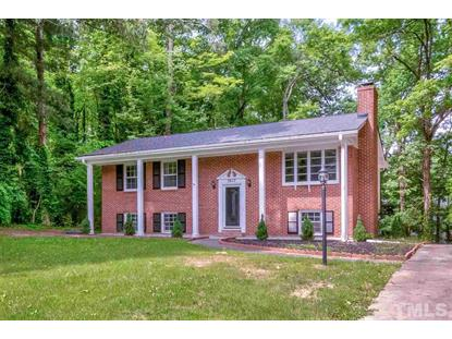 3617 Old Post Road  Raleigh, NC MLS# 2257213