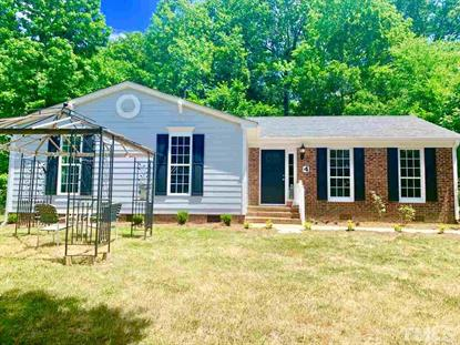 4 Hedgerow Place  Durham, NC MLS# 2257236
