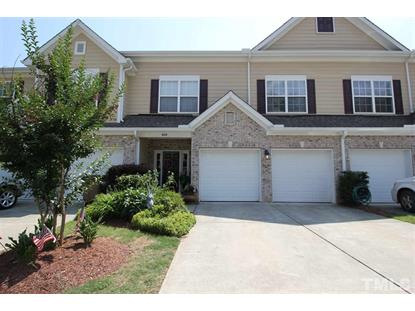 608 Bartlett Circle  Hillsborough, NC MLS# 2259602
