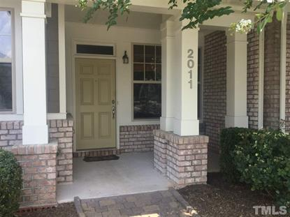 2011 Freeport Drive  Cary, NC MLS# 2261989