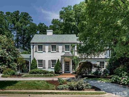 2509 Anderson Drive  Raleigh, NC MLS# 2262703