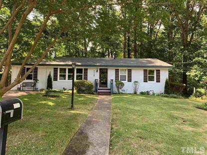 3113 Julian Drive  Raleigh, NC MLS# 2263072