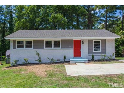 3314 Friar Tuck Road  Raleigh, NC MLS# 2264084