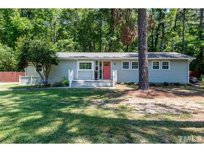 814 Chatham Lane  Raleigh, NC MLS# 2273105