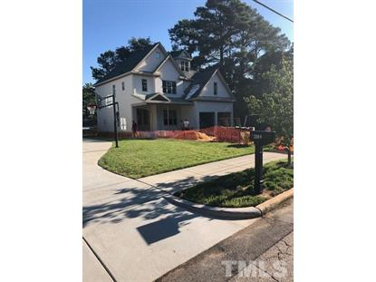 2802 OBerry Street  Raleigh, NC MLS# 2275654
