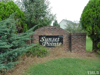 144 Sunset Pointe  Clayton, NC MLS# 2278512