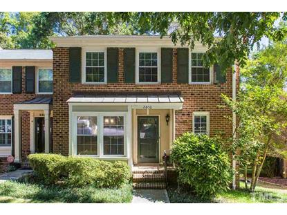 2856 Wycliff Road  Raleigh, NC MLS# 2279829