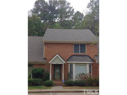 5500 Fortunes Ridge Drive  Durham, NC MLS# 2283905