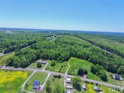 18 acres Charlie Reade Road  Timberlake, NC MLS# 2293395