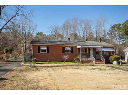 437 Hamlet Chapel Road  Pittsboro, NC MLS# 2296423