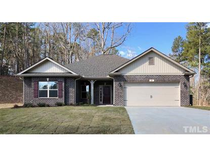 68 Woodwater Circle  Lillington, NC MLS# 2318652