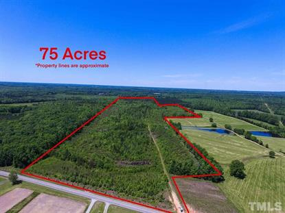 75 acres Surl Mt Tirzah Road  Timberlake, NC MLS# 2318887