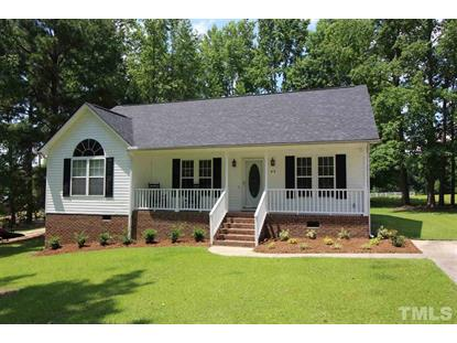 42 Wiregrass Court  Angier, NC MLS# 2326710