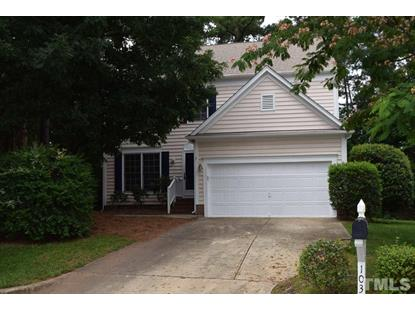 103 Canton Chase Court  Cary, NC MLS# 2327844