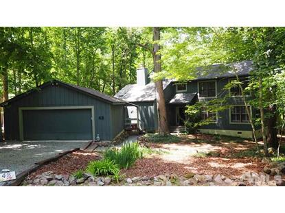 48 Trestle Leaf  Pittsboro, NC MLS# 2328804