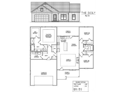 607 E Sanders Street  Four Oaks, NC MLS# 2333268