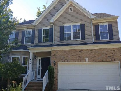 408 Sycamore Ridge Lane  Holly Springs, NC MLS# 2334665