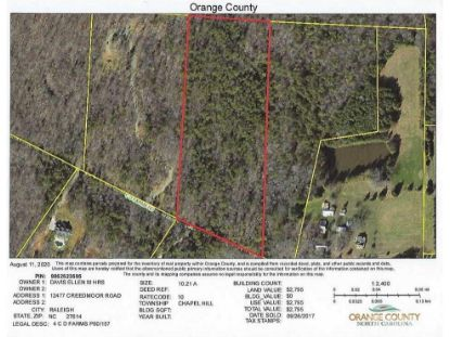 4 C D Farms Road  Hillsborough, NC MLS# 2337075