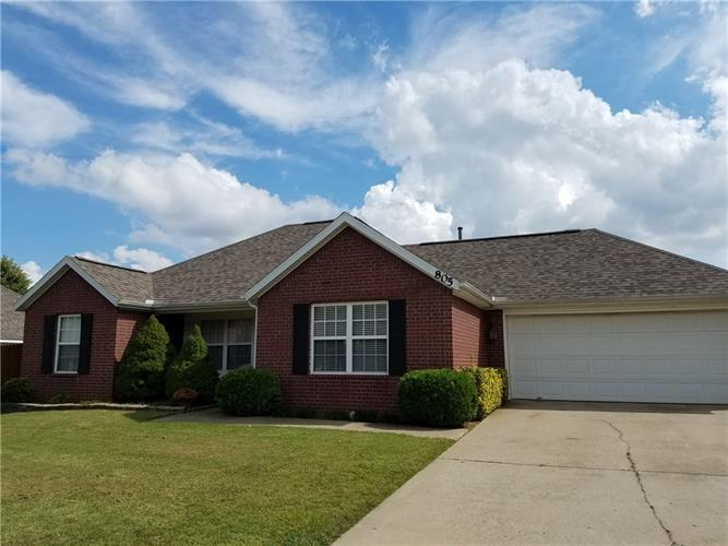 805 Crystal  ST, Lowell, AR 72745