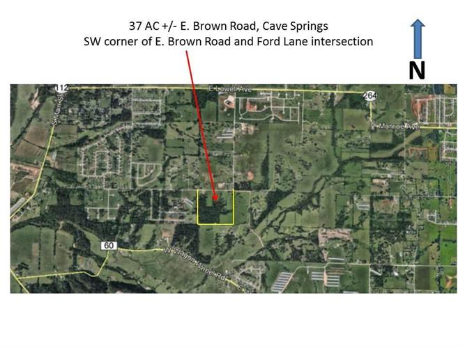 37 AC E Brown Road, Cave Springs, AR 72718