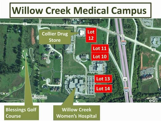 Willow Creek, Johnson, AR 72704
