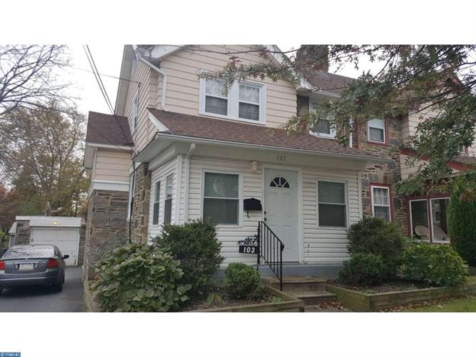 103 WOODLAWN AVE, Upper Darby, PA 19082