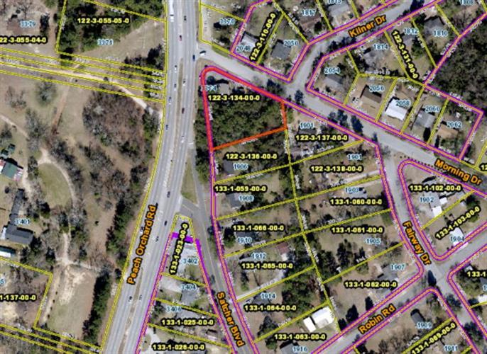 3374 Peach Orchard Road Augusta GA 30906 For Sale MLS 406794