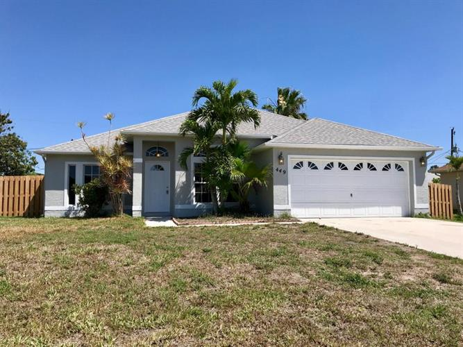 449 SW Homeland Road, Port Saint Lucie, FL 34953