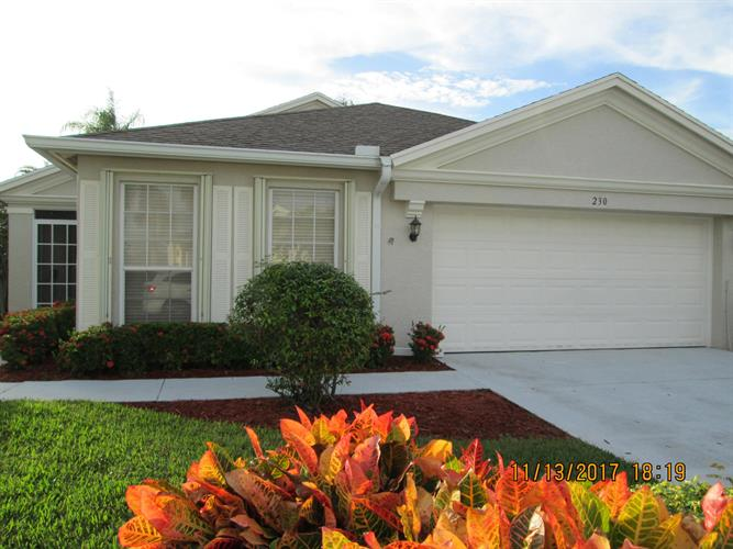230 SW Lake Forest Way, Port Saint Lucie, FL 34986 - Image 1