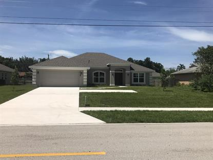 1862 SW Millikin Avenue Port Saint Lucie, FL MLS# RX-10366882