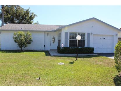6304 Silver Moon Lane Lake Worth, FL MLS# RX-10412805