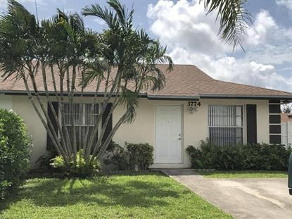 3774 W Heather Drive Greenacres, FL MLS# RX-10435851