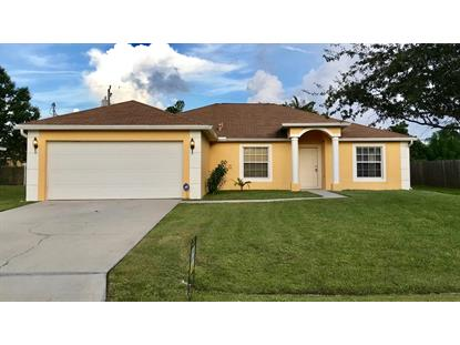 2671 SW Feather Terrace Port Saint Lucie, FL MLS# RX-10441400