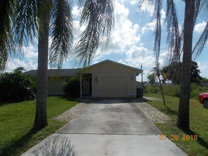 141 NW Peach Street Port Saint Lucie, FL MLS# RX-10450549
