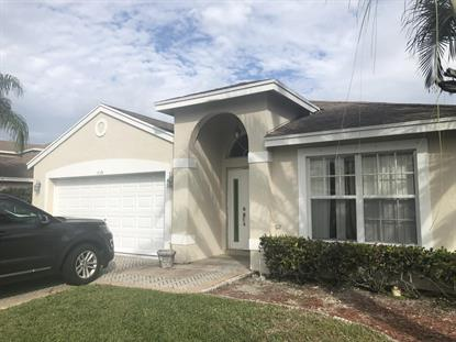 1725 Sawgrass Circle Greenacres, FL MLS# RX-10485597